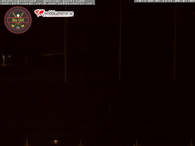 Webbkamera - Bedinge Golfklubb, Beddingestrand