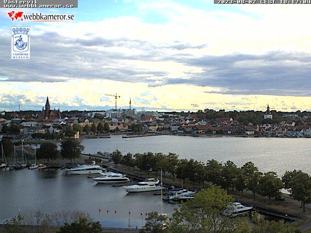 Webcam Västervik, Västervik, Småland, Schweden