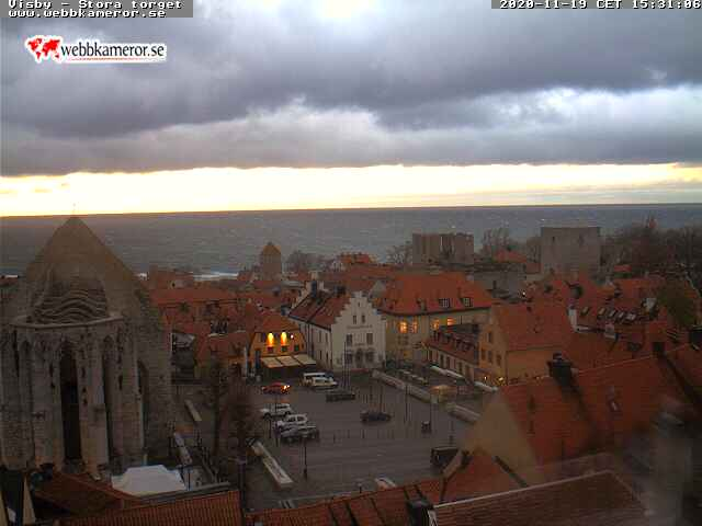 Webcam Visby, Gotland, Gotland, Schweden